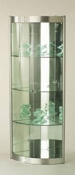 glass corner display units for living room pertaining to the house
