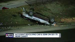 Car Loses Control, Hits Semi And Rolls Over On I-75 In Detroit - YouTube Ocala Post Fatal Crash On I75 Leaves Two Dead And One Critically In Lexington Reopens After Semi Sthbound I94 Ramps Reopen Allday Closure Crains Car Loses Control Hits Rolls Over Detroit Youtube Tanker Semi Truck Overturns Causing Hwy 75 Traffic To Be Detoured Update I70 Henry County Fatal Local News Accident South Ga 2018 Deadly Mcminn Wtvc One Injured Accident Tiftongazettecom Michigan On I44 Best Florida Highway Patrol Crash Log