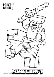 Minecraft Coloring Pages And Printable New To Produce Inspiring