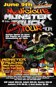Malicious Monster Truck Tour At Southern Oregon Speedway Tickets In ... Monster Trucks 2018 Coffs Harbour Function Centre Showgrounds Jam Truck Show Discount Tickets Coming To Tacoma Dome In Win Toronto I Dont Blog But If Did State Farm Stadium Thrdown Events Photos Videos 20 Things You Didnt Know About Monster Trucks As Comes Traxxas Monster Truck Crown Complex No Limits Featuring Bigfoot Salem Va 24153 Page 3 Jamst Louis Kids Out And About St Monstertruck Poster