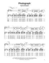 Zero Smashing Pumpkins Tab by Photograph Sheet By Nickelback Easy Guitar Tab U2013 169018