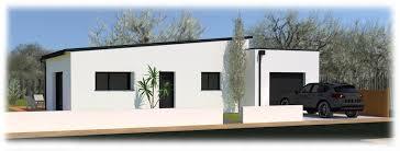 maison plain pied 2 chambres maison contemporaine plain pied avec toits monopentes au poiré sur
