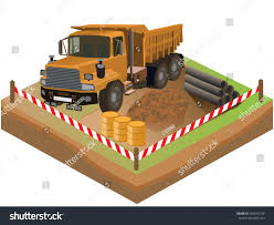 Detailed Vector Illustration Truck Can Be Stock Vector 300540134 ...