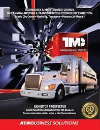 100 Truck Maintenance Council TMC S 2016 Transportation Technology Exhibition PDF