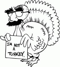 Thanksgiving Coloring Pages Of Turkeys Hiding