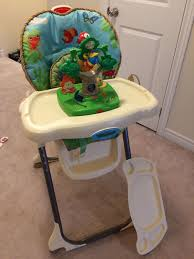 Find More Fisher Price Rainforest High Chair In Euc For Sale At Up ... Fisherprice Spacesaver High Chair Rainforest Friends Buy Online Cheap Fisher Price Toys Find Baby Chair In Very Good Cditions Rainforest Replacement Parrot Bobble Toy Healthy Care Rainforest Bouncer Lights Music Nature Sounds Awesome Kohls 10 Best Doll Stroller Reviewed In 2019 Tenbuyerguidecom The Play Gyms Of Price Jumperoo Malta Superseat Deluxe Giggles Island Educational Infant 2016 Top 8 Chairs For Babies Lounge