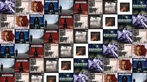 Eminem Curtains Up Encore Version by Eminem Slim Shady Lp Slim Shady Lp 2 Wallpaper Tiled Desktop