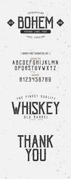 Bohem Free Font On Behance