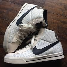 Mens Vintage Nike High Tops Size 95