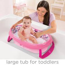 Infant Bathtub Seat Ring by Amazon Com Summer Infant Easystore Comfort Tub Pink Baby