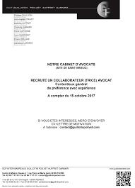 cabinet d avocat recrutement offres de collaboration archives barreau de caen