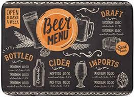 rongpona badematte alkohol essen bier trinken restaurant