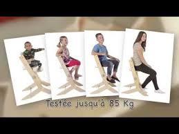 geuther chaise haute chaise haute évolutive en bois syt de geuther