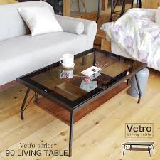 100 Living Room Table Modern Table Vetro 90cm In Width Rectangle Glass Table Elegant Interior Living Table Center Table Low Table Tatamiroom Table Modern Shin Pull