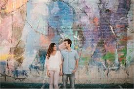 Deep Ellum Wall Murals by Bekah Michael A Deep Ellum Engagement Session Rachel Meagan