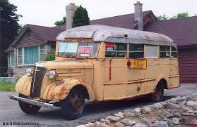 Camper Based On A 1937 Chevrolet Bus