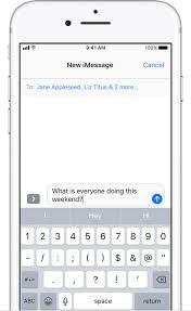 Send a group message on your iPhone iPad or iPod touch Apple