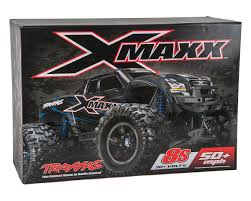X-Maxx 8S 4WD Brushless RTR Monster Truck (Red) By Traxxas [TRA77086 ... Webby Remote Controlled Rock Crawler Monster Truck Blue Buy Amazoncom Ford F150 Svt Raptor 114 Rtr Rc Colors New Bright Ff Jam Bursts Grave Digger 112 24g 2wd Alloy High Speed Control Off 124 Scale Maxd Walmartcom Electric Redcat Volcano18 V2 118 Mons Rc Trucks Suppliers And Manufacturers At Big Hummer H2 Wmp3ipod Hookup Engine Sounds Shop 4wd Triband Offroad C2035 Cars 30mph Control Brushed Gizmo Toy Ibot Road Racing Car Monster Truck Toys Array