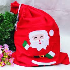 50 70cm large christmas santa sack felt bag drawstring cloth