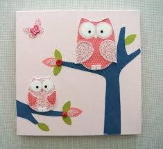 tableau pour chambre bébé tableau chambre bébé 30 idées de décoration mignonne owl craft