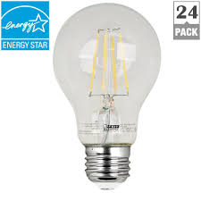 feit electric 60w equivalent daylight a19 dimmable clear filament