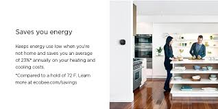 Floor Register Extender Home Depot by Ecobee Ecobee4 7 Day Smart Wi Fi Programmable Thermostat With Room