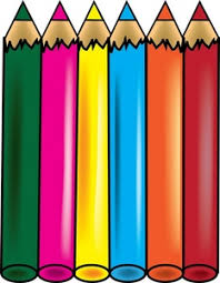 Colored Pencil Drawing Clipart