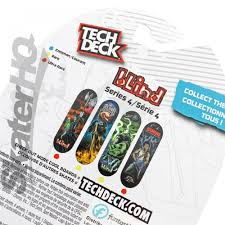 Tech Deck Finger Skateboard Tricks by Tech Deck Blind Reaper Fire Series 4 Skater Hq