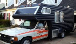 1985 Toyota Coachman RV Remodeled AFTER
