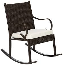Christopher Knight Home 304344 Muriel Outdoor Wicker Rocking Chair With  Cushion, Dark Brown And Cream Inoutdoor Patio Porch Walnut Resin Wicker Rocking Chair Incredible Pvc And P V C Pipe Project Pearson Pair Of Outdoor Chairs Cushioned Rattan Rocker Armchair Glider Lounge Fniture With Cushion Grey The Portside Plantation All Weather Tortuga Details About 2pc Folding Set Garden Mesh Chaise F7g5 Yardeen 2 Pcs Deck Sea Pines Muriel 3pc White Front Mainstays Cheap Find Deals On Line At