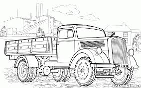 100 Truck Color Pages Ing Coloringrocks