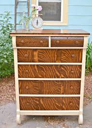 heir and space an antique tiger oak dresser