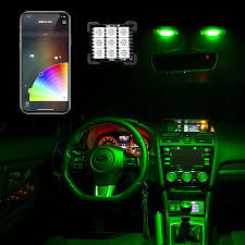 T10/BA9s/Festoon Bluetooth LED Panel Bulb XKchrome App Controlled ... Exquisite Sets Pieces Car Led Interior Decoration Under Dash 2010 2014 F150 Raptor Led Ambient Lights F150ledscom Lil Ray Raises Bar On Interior Truck Design With Pride Polish Amazoncom Strip Light Wsiiroon 4pcs 48 Multicolor Automotive Bars Strips Halos Bulbs Custom Kits Colored Lighting Services In Evansville Newburgh Southern 8x24 Undeglow Tubes 6x10 4x3ft Wheel Stunning Bar Headlights In My 1985 Chevy Silverado Trucks My Truckzzz Youtube