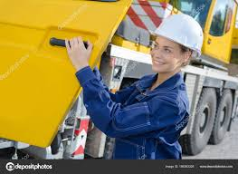 100 Female Truck Driver Truck Driver And Truck Stock Photo Photography33