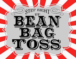 Carnival Bean Bag Toss