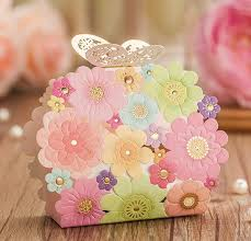 Free Shipping 100pcs Lot Laser Cut Wedding Favor Boxes Candy Box Souvenir Rustic