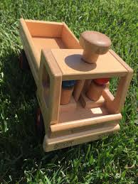 100 Fagus Trucks Wooden Truck Toy On Carousell