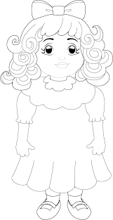 Printable Coloring Pages Goldilocks Three Bears Free Of And