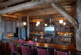 Log Cabin Kitchen Island Ideas by 100 Rustic Kitchens Designs Kitchen Exciting Lily Ann