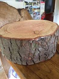 Image Is Loading 14 034 36cm Rustic Log Slice 4
