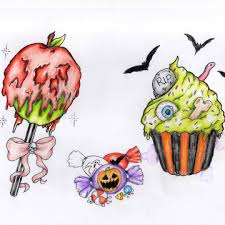 Poisoned Halloween Candy 2014 by Halloween Tattoos U2013 Peter Smith Designs