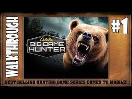 Cabela s Big Game Hunter Gaming