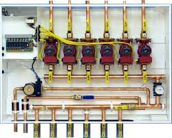 Hydronic Radiant Floor Heating Supplies by Complete Assemled Mechanical System Control Panels U0026 Control