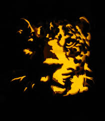 Werewolf Pumpkin Stencil by Leopard Pumpkin Carving By Armuri On Deviantart