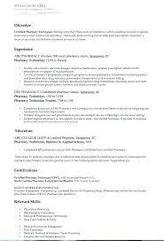 Pharmacist Resume Template Related Post Cv Pdf