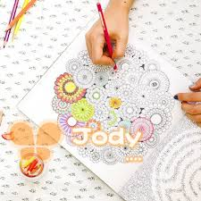 Korean Secret Garden And Coloring Book With 36 Color Pens For Adult Children Graffiti Painting Drawing Free Shipping In Books From Office School