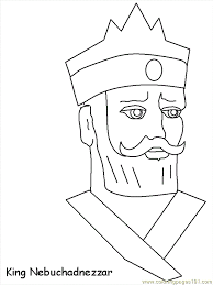 Shadrach Meshach Bible Coloring Pages