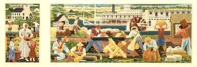 Harlem Hospital Wpa Murals by Wpa Murals Part 2 Frustration Public Domain Images Online
