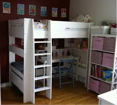 lit mezzanine bureau blanc lit mezzanine enfant wax blanc 90x190 cm