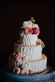 A Beautiful Buttercream Wedding Cake By Felicias SweetFace Pastry Shoppe